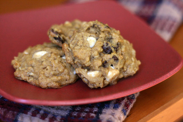 Pumpkin Oatmeal Cookies _ Local Food Journey
