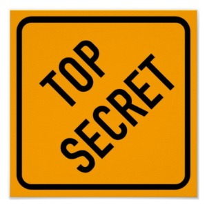 Top Secret: Source Zazzle.com