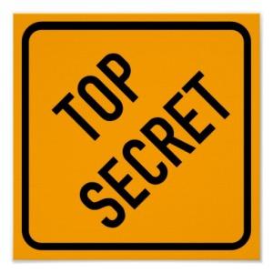Top Secret: Source Zazzle.com