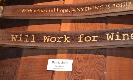 Wine Signage
