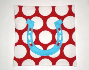 Horseshoe Pillow- www.etsy.com