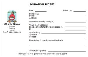 Donation Receipt - www.sampletemplates.com/receipt-templates/donation-receipt-template.html