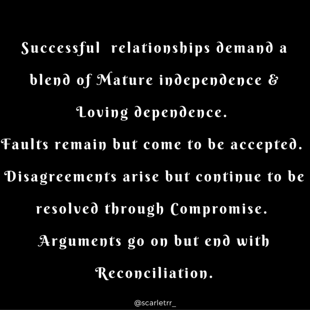 Successful Relationships end with Reconciliation (11)